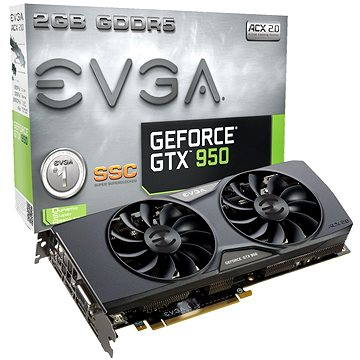 EVGA GeForce GTX950 SSC GAMING (02G-P4-2957-KR)