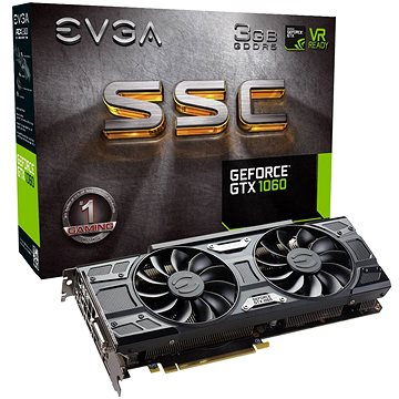 EVGA GeForce GTX 1060 3GB SSC GAMING ACX 3.0 (03G-P4-6167-KR)