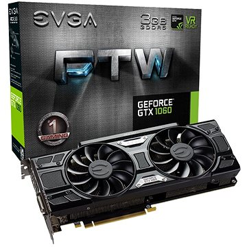 EVGA GeForce GTX 1060 3GB FTW GAMING ACX 3.0 (03G-P4-6168-KR)