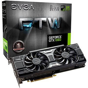 EVGA GeForce GTX 1060 FTW GAMING ACX 3.0 (06G-P4-6268-KR)