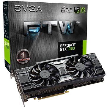 EVGA GeForce GTX 1060 FTW+ GAMING ACX 3.0 (06G-P4-6368-KR)