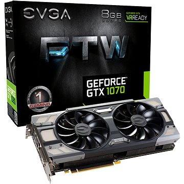 EVGA GeForce GTX 1070 FTW GAMING ACX 3.0 (08G-P4-6276-KR) + ZDARMA Hra pro PC Watch Dogs 2 Poukaz Elektronický dárkový poukaz Alza.cz v hodnotě 600 Kč na nákup sortimentu Logitech Gaming