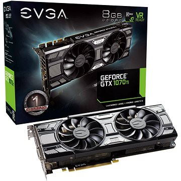 EVGA GeForce GTX 1070 Ti SC GAMING ACX 3.0 (08G-P4-5671-KR)