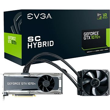 EVGA GeForce GTX 1070 Ti GAMING SC HYBRID (08G-P4-5678-KR)