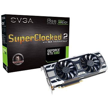 EVGA GeForce GTX 1080 SC2 GAMING iCX (08G-P4-6583-KR)