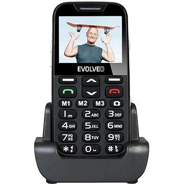 EVOLVEO EasyPhone XD černo-stříbrný (EP-600-XDB) + ZDARMA Digitální předplatné PC Revue - Roční předplatné - ZDARMA Digitální předplatné Týden - roční Digitální předplatné Interview - SK - Roční od ALZY