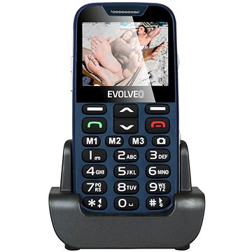 EVOLVEO EasyPhone XD modro-stříbrný (EP-600-XDL) + ZDARMA Digitální předplatné PC Revue - Roční předplatné - ZDARMA Digitální předplatné Týden - roční Digitální předplatné Interview - SK - Roční od ALZY