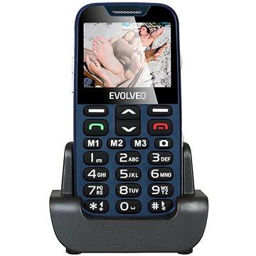 EVOLVEO EasyPhone XD modro-stříbrný (EP-600-XDL)