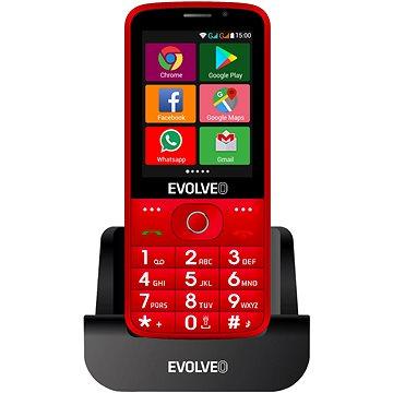 EVOLVEO EasyPhone AD červený (EP-900-ADR)