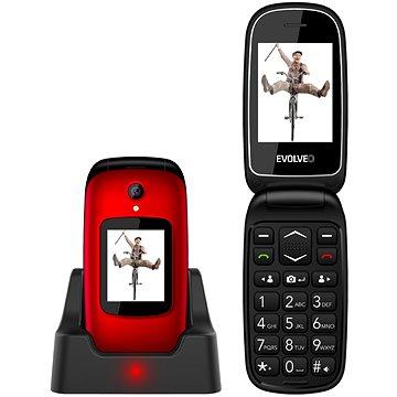 EVOLVEO EasyPhone FD červený (EP-700-FDR)
