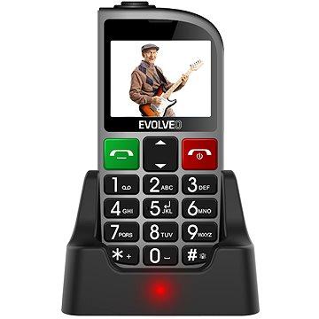 EVOLVEO EasyPhone FM stříbrná (EP-800-FMS)