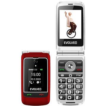 EVOLVEO EasyPhone FG červená (EP-750-FGR)