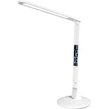 EVOLVEO Lumos IQ7, LED stolní lampa s LCD displejem (LUM-IQ7-WHT)