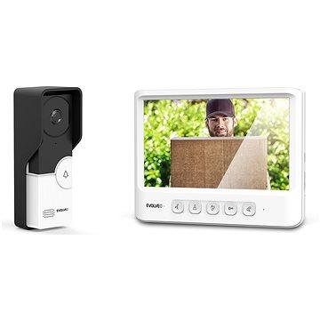 EVOLVEO DoorPhone IK06 set video dveřního telefonu s pamětí a barevným displejem (DPIK06-W)