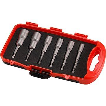 EXTOL PREMIUM kľúče nástrčné do vŕtačky, sada 6 ks, CrV(8819630)