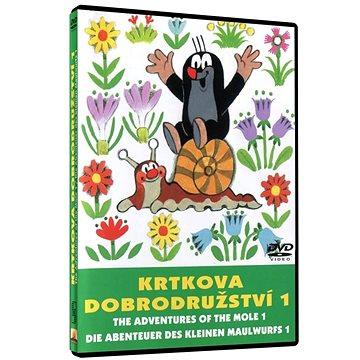 Krtkova dobrodružství 1 - DVD (8590548901317)