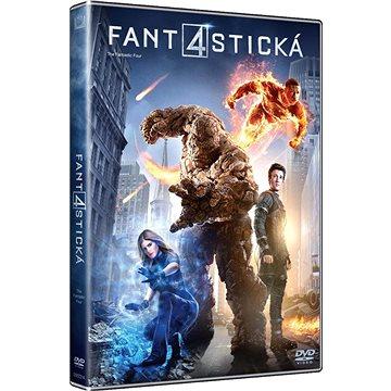 Fantastická čtyřka (2015) - DVD (D007314)