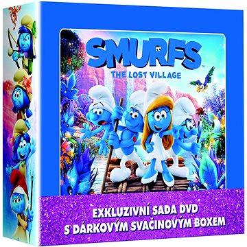 Šmoulové 1-3 LUNCH BOX (3DVD + svačinový box) - DVD (D007943)