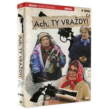 Ach, ty vraždy! (5DVD) - DVD (ECT085)