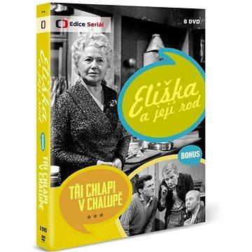 Eliška a její rod + Bonus: Tři chlapi v chalupě (8DVD) - DVD (ECT194)