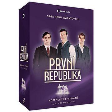 Komplet První republika I. - III. řada (14 DVD) - DVD (ECT316)