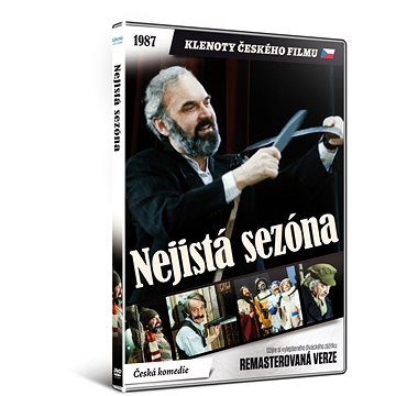 Nejistá sezóna - edice KLENOTY ČESKÉHO FILMU (remasterovaná verze) - DVD (N02447)
