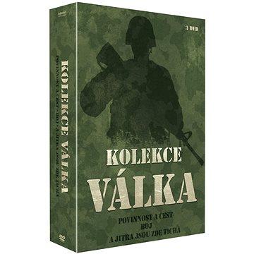 Kolekce Válečné filmy (3DVD): Povinnost a čest + Boj + A jitra jsou zde tichá - DVD (N02527)