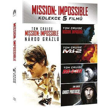 Mission: Impossible kolekce 1-5 BD - Blu-ray (P00996)