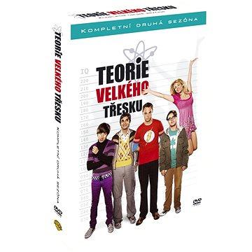 Teorie velkého třesku / The Big Bang Theory - Kompletní 2.série (4DVD) - DVD (W01045)