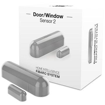 Fibaro Senzor na okna a dveře 2 stříbrný (FGDW-002-2)