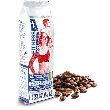 Fitness coffee Antioxidant fully active blend 250g zrnková (FIT57002)