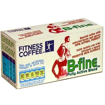 Fitness coffee B – fine fully active blend (30 x 7g) (FIT57004)