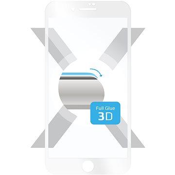 FIXED 3D Full-Cover pro Apple iPhone 7 Plus/8 Plus bílé (FIXG3D-101-033WH)