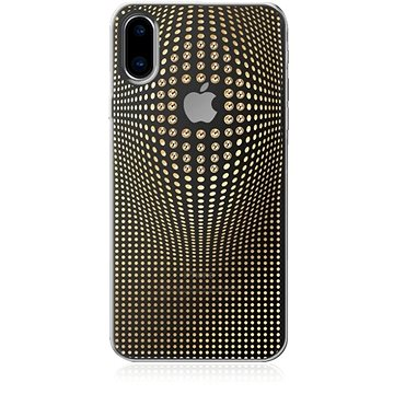 Bling My Thing Warp Deluxe Gold pro iPhone X (IP8-WD-CL-GLD )