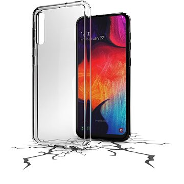 Cellularline Clear Duo pro Samsung Galaxy A50/A30s (CLEARDUOGALA50T)