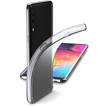 Cellularline Fine pro Samsung Galaxy A50/A30s, bezbarvý (FINEGALA50T)
