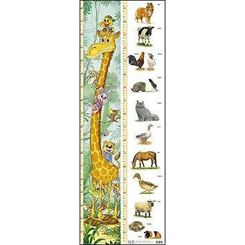 Dětský metr (žirafa + zvířat) (80-7228-321-9)
