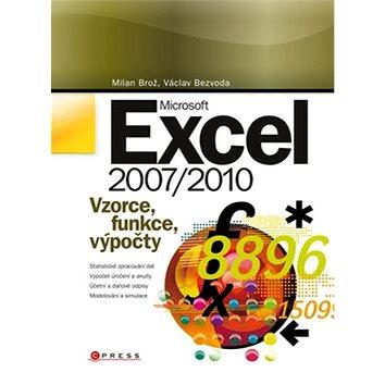Microsoft Excel 2007/2010: Vzorce, funkce, výpočty (978-80-251-3267-8)