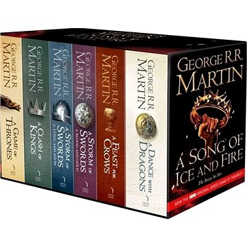 A Game of Thrones: The Complete Box Set of All 6 Books (9780007477166)