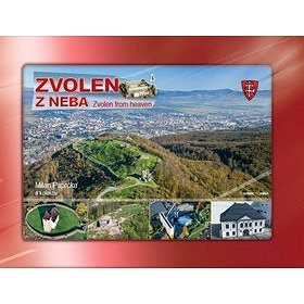 Zvolen z neba: Zvolen from heaven (978-80-8144-104-2)