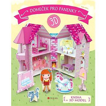 Domeček pro panenky: kniha + 3D model (8594050424135)