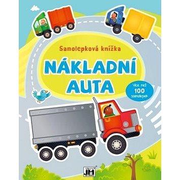 Samolepková knížka Nákladní auta (8595593815916)