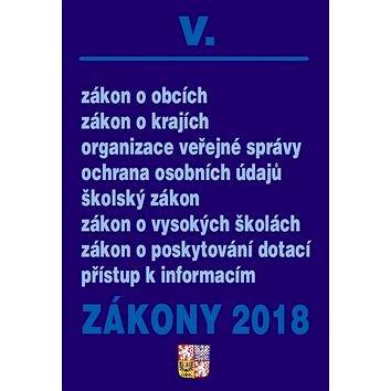 Zákony 2018 V. (9771802830188)