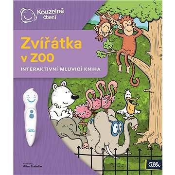 Zvířátka v ZOO: Interaktivní mluvící kniha (9788087958483)