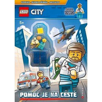 LEGO CITY Pomoc je na cestě: Komiks, super příběh, aktivity, obsahuje minifigurku (978-80-264-1941-9