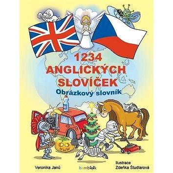 1234 anglických slovíček: Obrázkový slovník pro děti (978-80-271-0697-4)