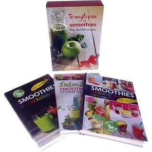 To najlepšie zo smoothies: BOX 3 ks Viac ako 1000 receptov (8595637003385)