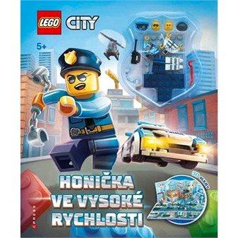 LEGO CITY Honička ve vysoké rychlosti: Osahuje rozkládací 3D kulisy a 2 minifigurky (978-80-264-1978-5)