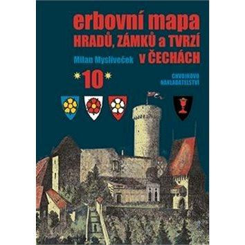 Erbovní mapa hradů, zámků a tvrzí v Čechách 10 (978-80-86183-80-0)