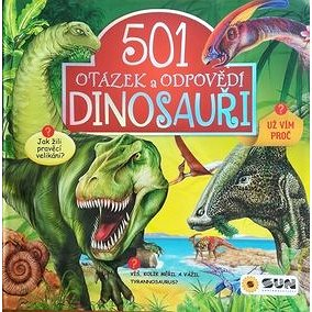 501 otázek a odpovědí Dinosauři (978-80-7567-225-4)